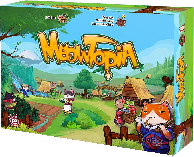 Meowtopia-Rune editions-Couv-Jeu-de-societe-ludovox