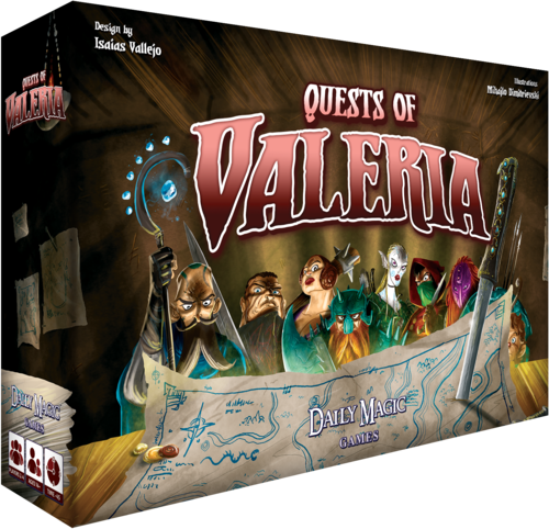 quests of valeria boite 3D