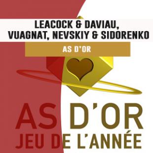 3 questions aux gagnants des As d'Or (Matt Leacock & Rob Daviau, Fred Vuagnat, Oleksandr Nevskiy & Oleg Sidorenko)