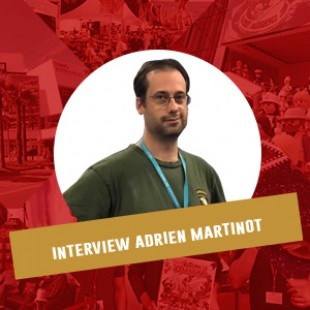 Cannes 2016 – Interview Adrien Martinot – Days of wonder – VF