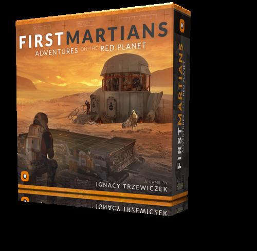 First Martians boite jeu de societe