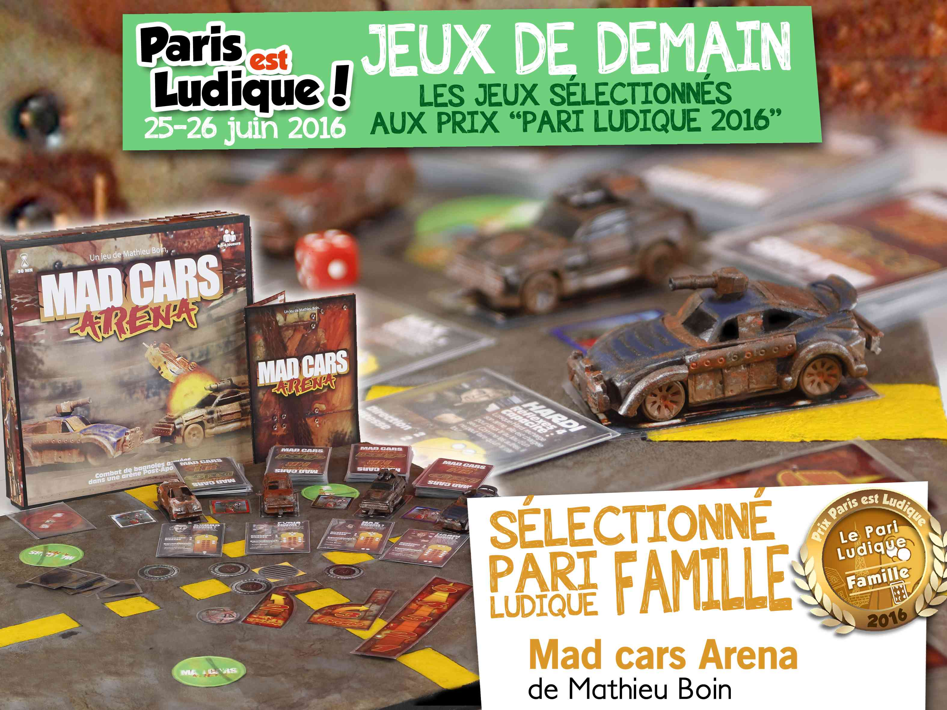 18 - Mad cars Arena