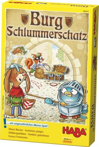 Burg Schlummerschatz boite de jeu
