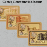 Cartes Honneur Construction bonus