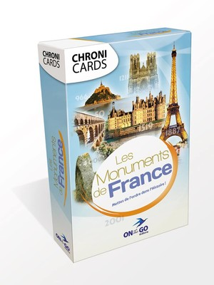 Chronicards Les monuments de France