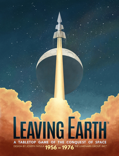 Leaving Earth boite de jeu
