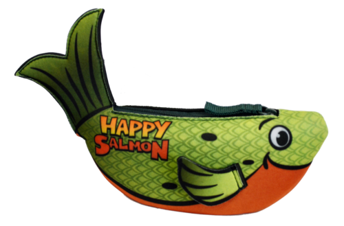 Happy salmon 1