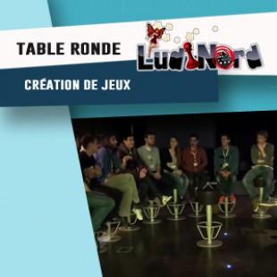 Ludinord 2016 – Table ronde : création de jeux de société – VF