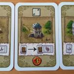 Les bâtiments de village ont des pouvoirs versatiles mais valent moins de points.