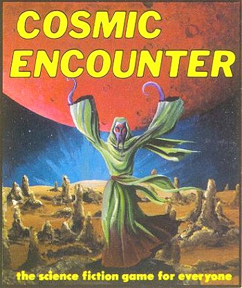 Cosmic Encounter 1977 jeu