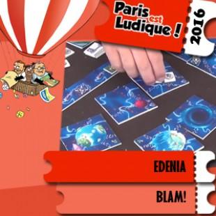 Paris est ludique 2016 – Jeu Edenia – Blam! – VF