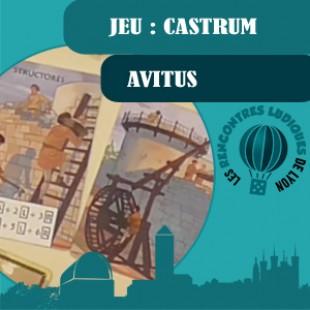 Rencontres Ludiques 2016 – Jeu Castrum – Avitus – VF
