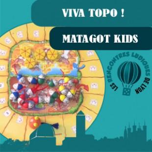 Rencontres Ludiques 2016 – Jeu Viva topo – Matagot kids – VF