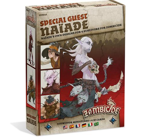 Zombicide Black Plague Special Guest Box Naïade