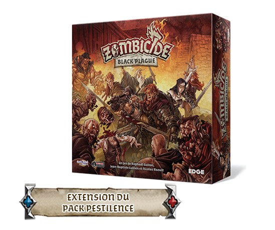 Zombicide Black PlagueExtension du Pack Pestilence