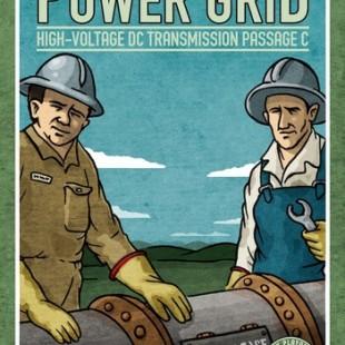 Power Grid: High-Voltage DC Transmission Passage C