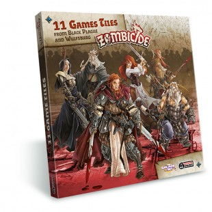Zombicide: Black Plague  games tiles