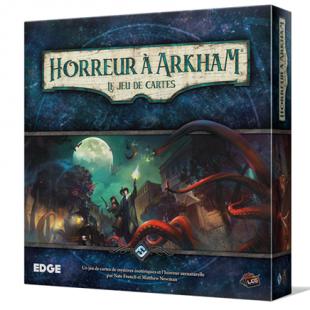 Horreur à Arkham, le jeu de cartes  – la folie des fêtes de fin d'année