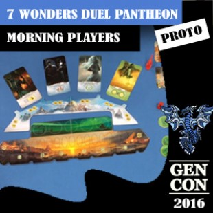 GenCon 2016 – Jeu 7 Wonders Pantheon – Repos Production – VF