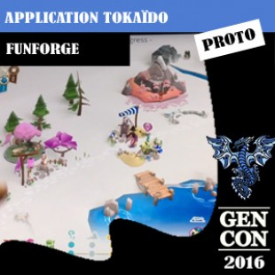 GenCon 2016 – Jeu Application Tokaïdo – Funforge – VF
