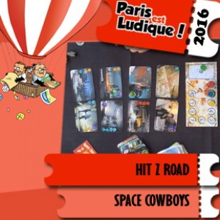 Paris est ludique 2016 – Jeu Hit Z Road – Space Cowboys – VF