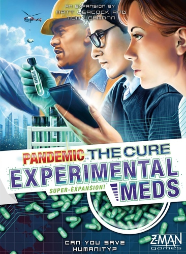 pandemic the cure experimental meds