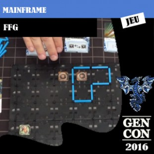 GenCon 2016 – Jeu Android Mainframe – Flight fantasy games – VOSTFR