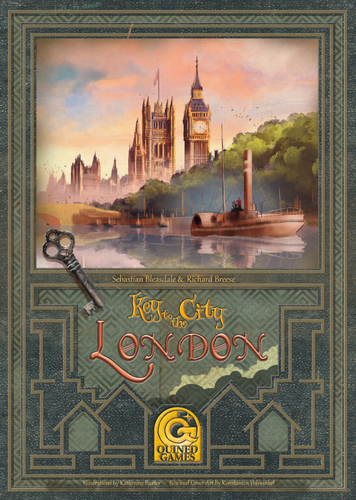 Key to the City – London cover