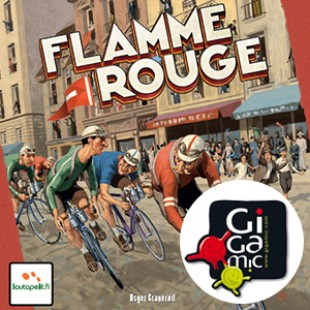 Flamme Rouge : Gigamic enfile le maillot à poids rouges