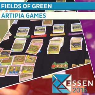 Essen 2016 – Jeu Fields of green – Artipia Games – VOSTFR