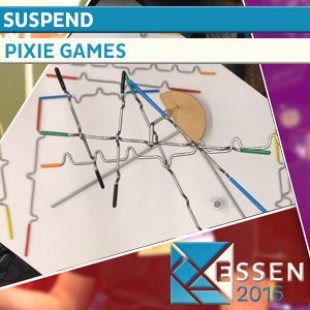 ESSEN 2016 – JEU SUSPEND – PIXIE GAMES – VF