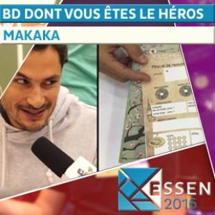 Essen 2016 : BD dont vous êtes le héros (Captive, Hocus & Pocus, Les larmes de Nüwa) – Makaka – VF