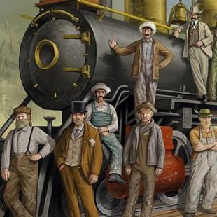 Railroad Revolution : un bon meeple est un meeple de couleur