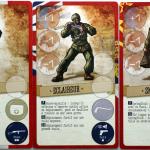 3 des quatre commandos de l'équipe
