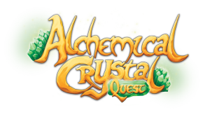 Alchemical Crystal Quest logo