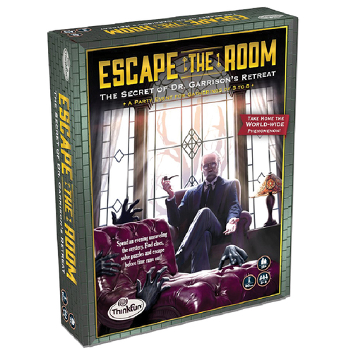 Escape the Room Secret of Dr. Gravely's Retreat box