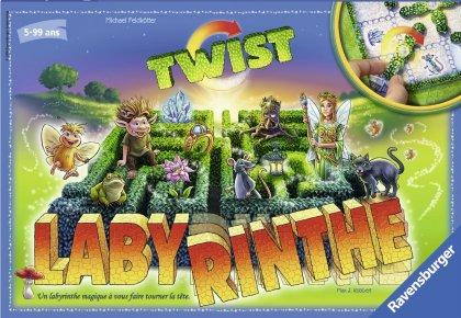 Labyrinthe Twist-ravensurger-Couv-Jeu de societe-ludovox