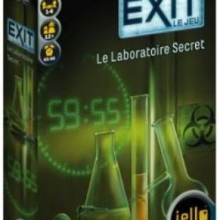EXIT le jeu, le laboratoire secret