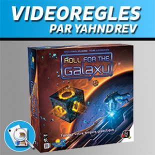 Vidéorègles – Roll For The Galaxy