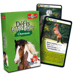 Defis Nature chevaux-Bioviva-Materiel-Jeu de societe-ludovox