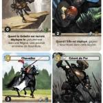 Twelve Heroes cartes jeu