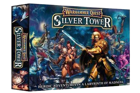 Warhammer Quest Silver Tower-games workshop-Couv-Jeu de societe-ludovox