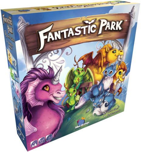 ludovox Fantastic Park jeu blue orange jeu de societe