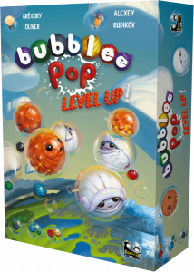 Bubblee Pop Level Up-Bankiiiz-Couv-Jeu de societe-ludovox