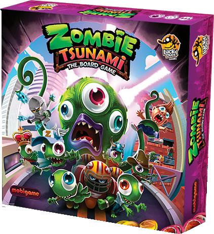 Zombie Tsunami-Lucky Duck games-Couv-Jeu de societe-ludovox