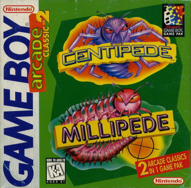 arcade-classic-no-2-centipede-millipede-gb
