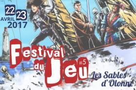 Festival du jeu aux Sables d'Olonne : cinquième !