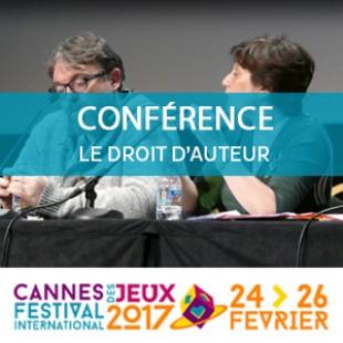 Cannes 2017 : Conférence – Droits d'auteur