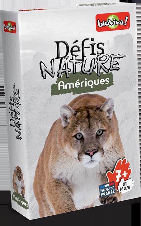 Defis Nature Amériques-Bioviva-Materiel-Jeu de societe-ludovox