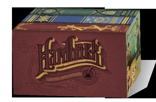 Hardback-boite